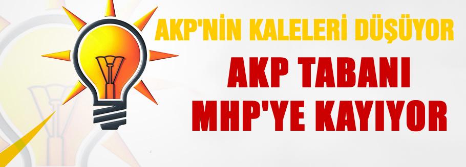 AKP'nin kalelerini MHP'ye teslim ediyor