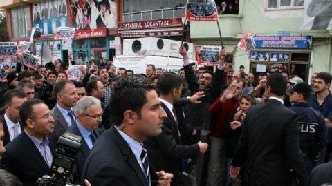 Bozdağ'a şok: 'Yuhalayın arkadaşlar'