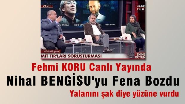 Fehmi Koru Canlı Yayında Nihal Bengisu'yu Fena Bozdu