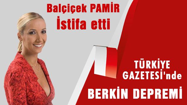 Balçiçek İlter istifa etti