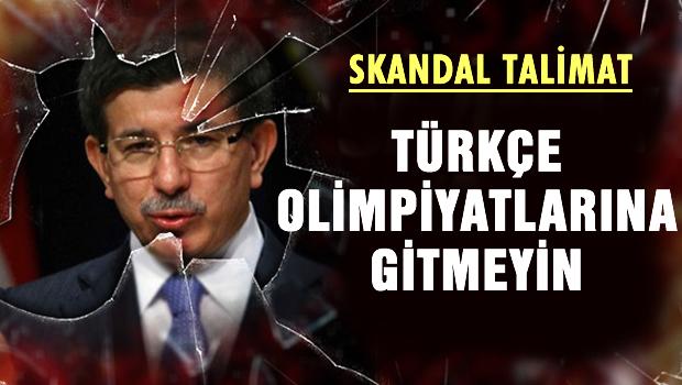Davutoğlu'ndan skandal talimat!