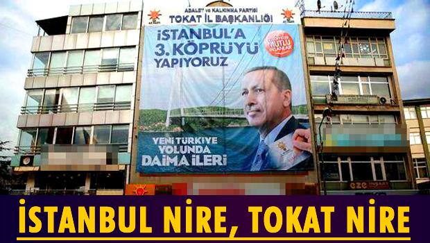 AKP'nin Tokat'ta 3. Köprü vaadi