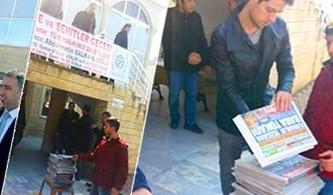Cami çıkışı Takvim Gazetesi bedava
