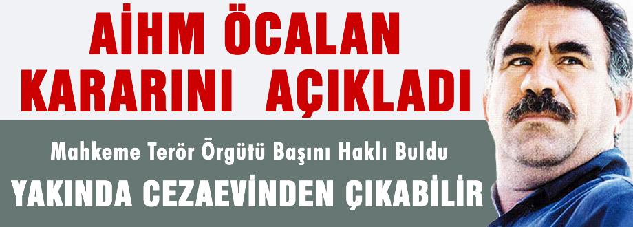 AİHM Öcalan kararını açıkladı