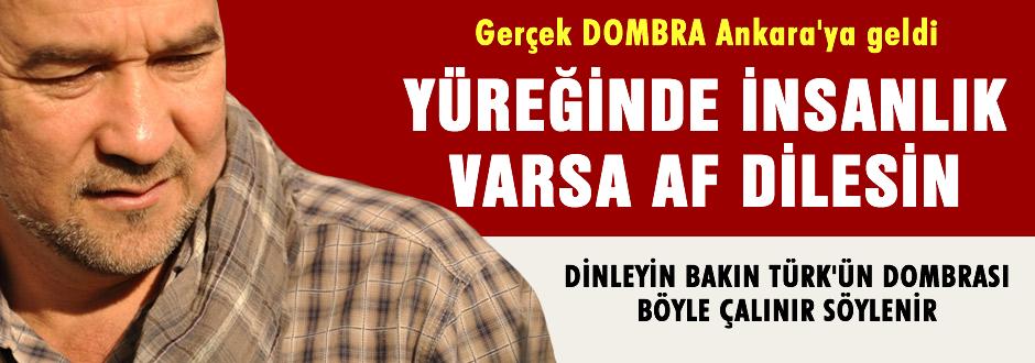 Gerçek 'Dombra' Ankara'ya geldi! Performans dikkat çekti