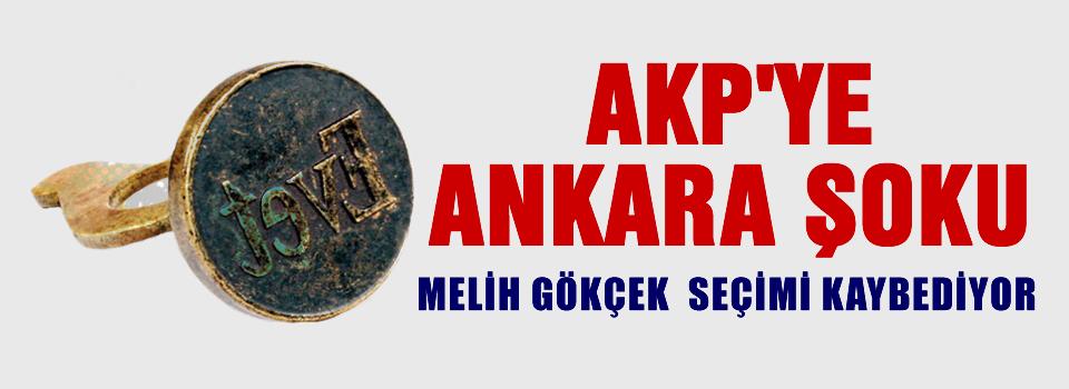 AKP'ye Ankara ŞOKU