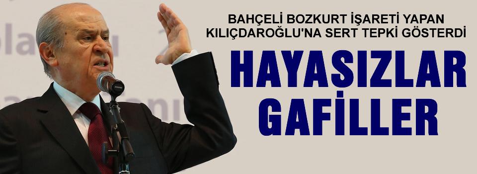 Kılıçdaroğlu'nun bozkurt işaretine tepki