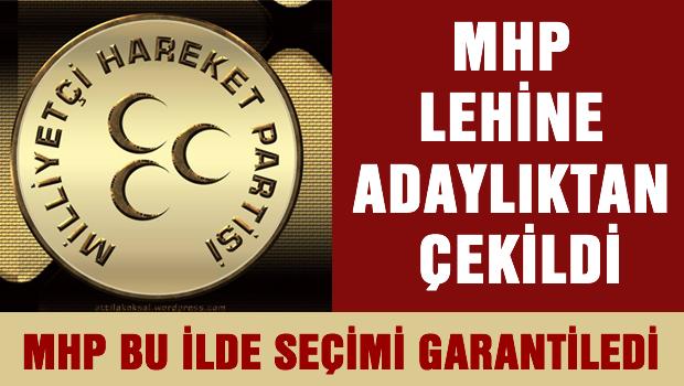 MHP İÇİN ADAYLIKTAN ÇEKİLDİ !