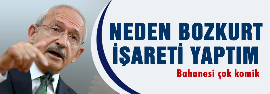 Kılıçdaroğlu neden Bozkurt işareti yapmış