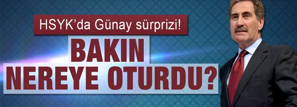HSYK'da Ertuğrul Günay sürprizi!