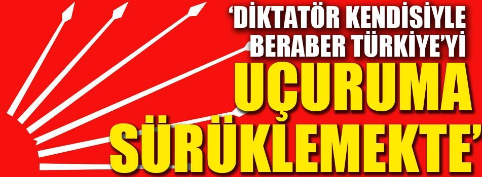Erdoğan'a 'Diktatör' benzetmesi!