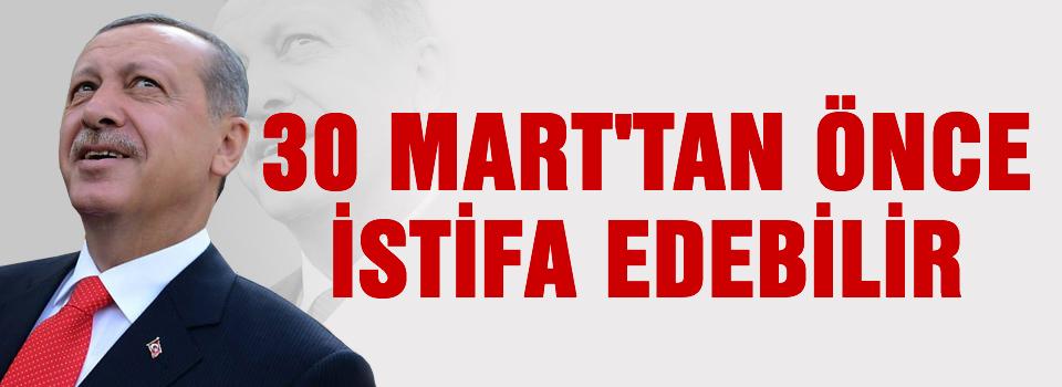 'Erdoğan 30 Mart'ı görmeden siyasetten çekilebilir'