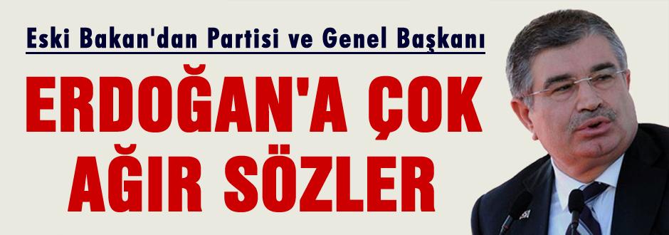 Şahin'den AKP'ye sert sözler