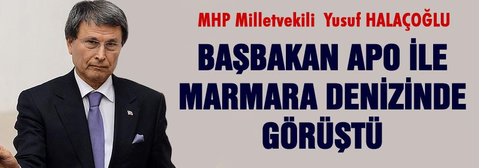 Başbakan, Apo ile Marmara Denizi'nde görüştü