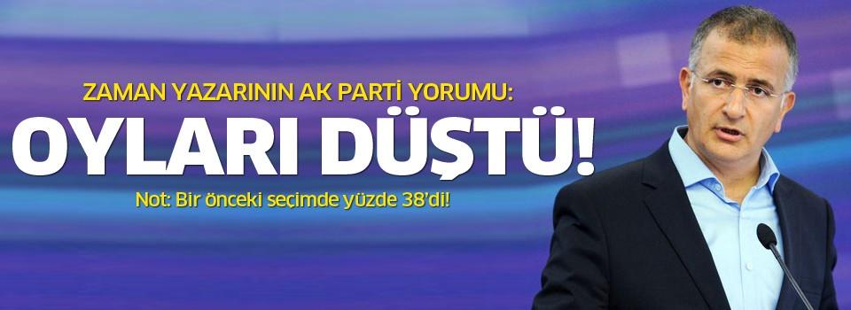 Ekrem Dumanlı: AKP yüzde 60 alamadı!