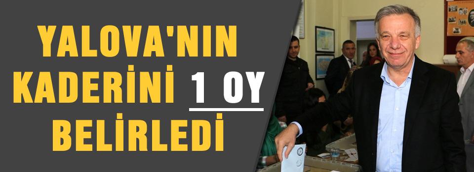 1 oy AKP'yi kazandırdı iddiası