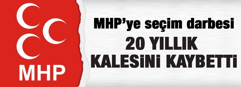 MHP 20 yıllık kalesini AkP'ye kaptırdı
