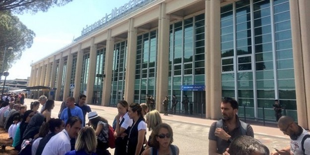 Marsilya alarmda! Marsilya Havalimanı tahliye edildi