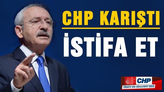 CHP karıştı: İstifa çağrısı