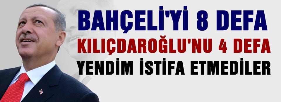 Bahçeli'yi 8, Kılıçdaroğlu'nu 4 defa yendim