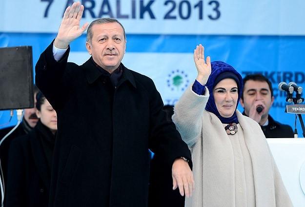 Dünkü Erdoğan