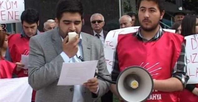 CHP gençlik kolları il başkanı gözaltına alındı