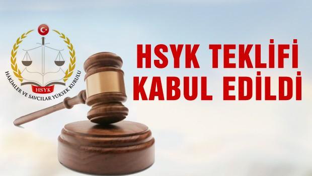 HYSK teklifi komisyondan geçti