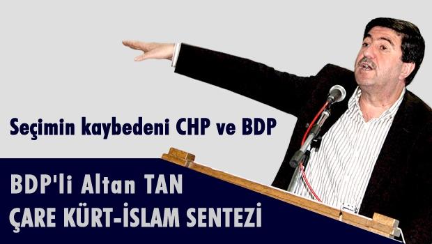 BDP'li Altan Tan partisini sert sözlerle eleştirdi