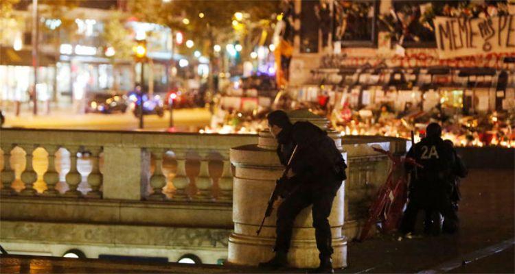 Paris'te çatışma çıktı
