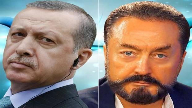 Erdoğan'dan Adnan Oktar'a telefon