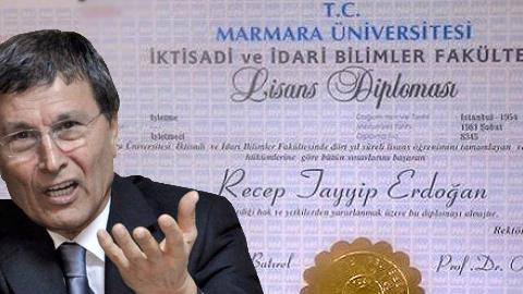 Erdoğan'ın diplomasına Belgeli cevap
