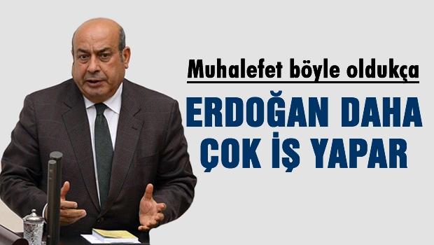 Kaplan 'Erdoğan daha çok iş yapar'