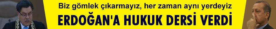 Kılıç Erdoğan'a Hukuk Dersi verdi