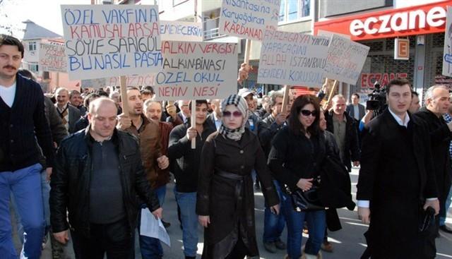 Sarıgül'e tepki yürüyüşü