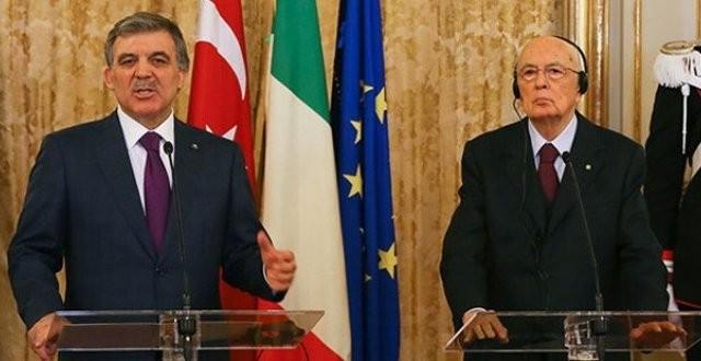 İtalya'dan Türkiye'ye tam destek