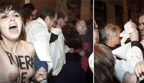 Başpiskoposun başına kanlı külot