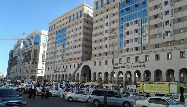 Medine'de otel yangını: 17  Türk öldü