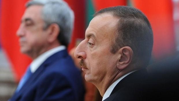 Aliyev Türkiye'yi eleştiren Sarkisyan'ı fena bozdu