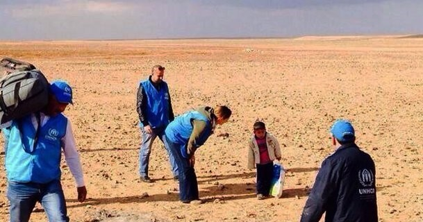4 yaşında Çölü Geçip Savaştan Kaçtı