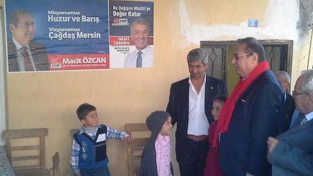 Mersin'de CHP'nin seçim bürosu yakıldı