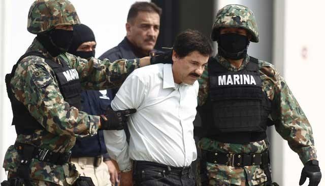 Dünya Uyuşturucu Baronu yakalandı