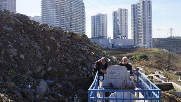 Mezarlığın üzerine inşaat ruhsatı verildi
