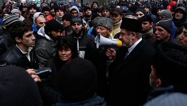 Kırım Türkleri'nin acıları tazelendi