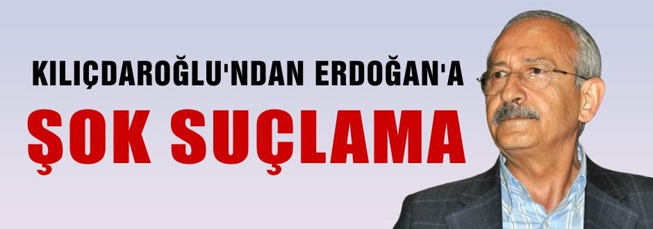 Erdoğan'a şok suçlama