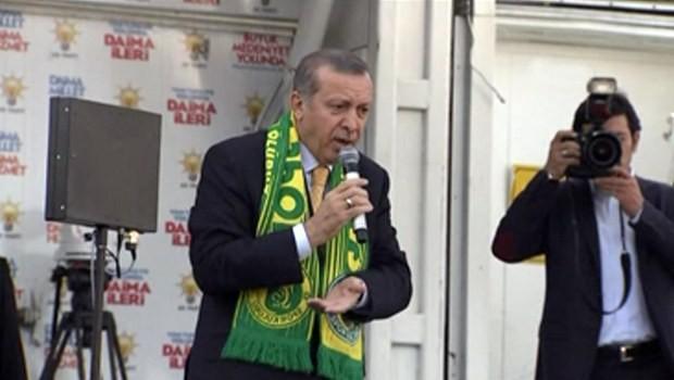 Erdoğan Emniyet Müdürü'nü fırçaladı