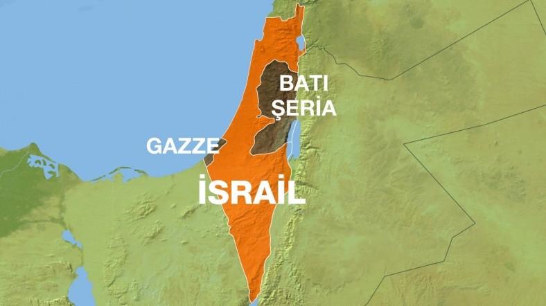 Savaş Uçakları Gazze'yi bombaladı