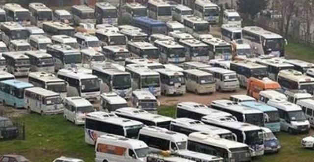 AKP İzmir mitingi  taşıma mı?