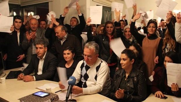 Gölbaşın'da AKP'liler  MHP'ye geçti