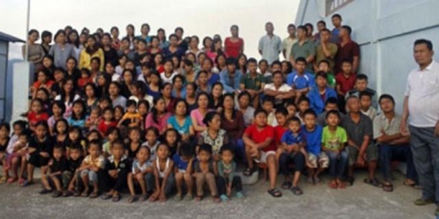 39 eşi ve 127 çocuğu var