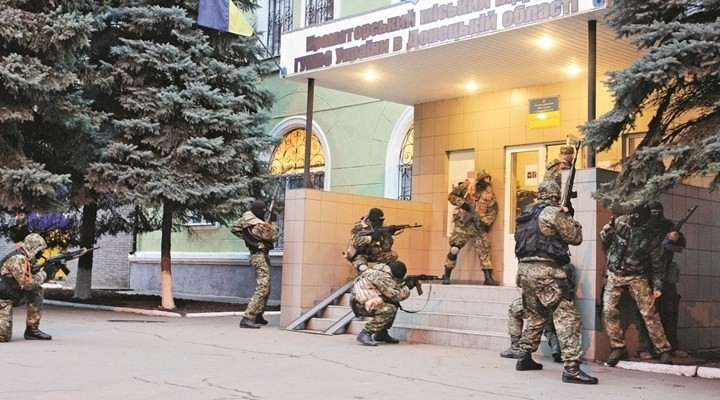 Ukrayna'da Rus yanlılarına operasyon